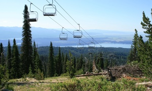 Brundage Mountain Resort: Scenic Chairlift Ride and Lunch for Two at Brundage Mountain Resort (Up to 50% Off)