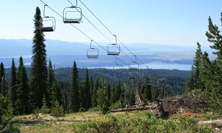 Scenic Chairlift Ride and Lunch for Two at Brundage Mountain Resort (Up to 50% Off)