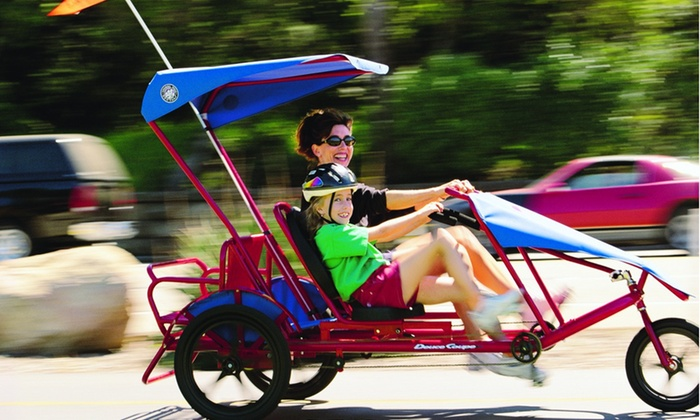 Wheel Fun Rentals - Townsite: $15 for $30 Worth of Rental Bikes and Outdoor Gear at Wheel Fun Rentals