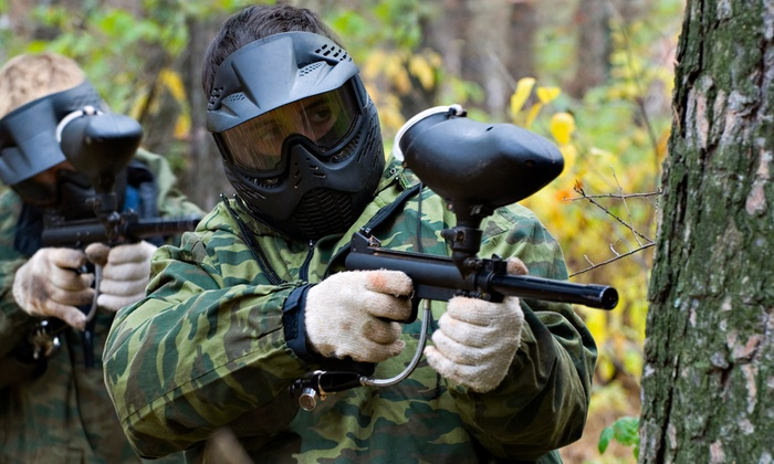 Wyldside Paintball - Wyld Side Paintball: Paintball with Equipment Rental for 2, 5, or 10 at Wyldside Paintball (76% Off)