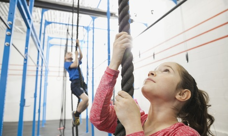 Five or Ten Sessions of Youth Lil' Ninja Warrior Training at X-Fit Training (Up to 60% Off) 0610da15-bb17-47c4-af28-fa0093c0a304