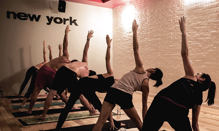 sweat yoga - Santa Monica: 10 Yoga Classes or One Unlimited Month at sweat yoga (Up to 70% Off)