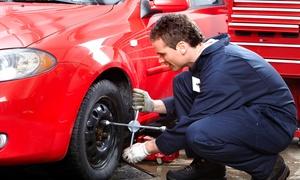 Car Tronic Officina: Cambio gomme, check up auto più bilanciatura all'officina Car Tronic (sconto 75%)