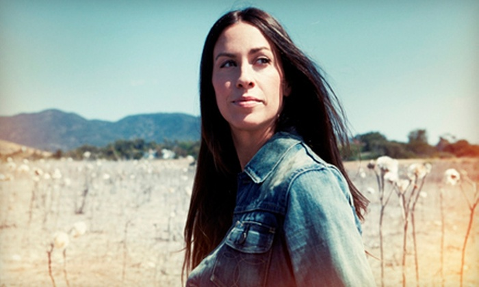 Alanis Morissette - Waterbury: $27 to See Alanis Morissette at the Palace Theater on Friday, October 19, at 7:30 p.m. (Up to $54 Value)