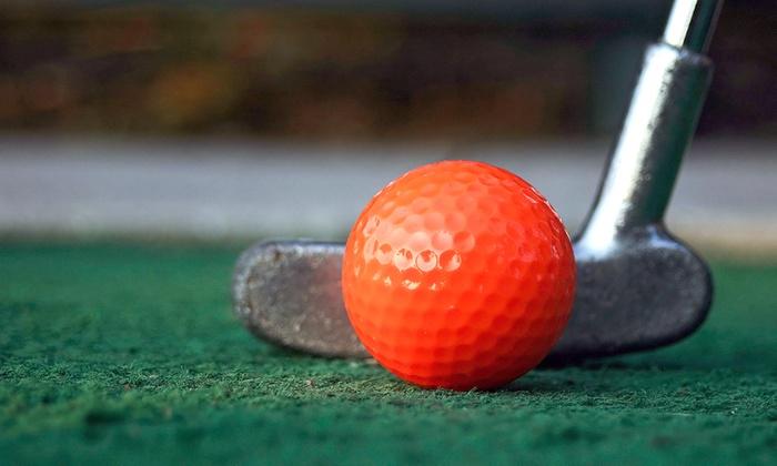 Miner Mike's Adventure Golf  - McCollum Park: Mini-Golf for 2, 4, or 6 at Miner Mike's Adventure Golf (Up to 50% Off)