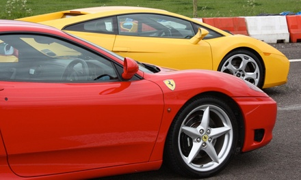 Exotic-Car Track Experience with 4, 6, or 10 Laps as the Driver from Exotic Car Tours (Up to 50% Off)
