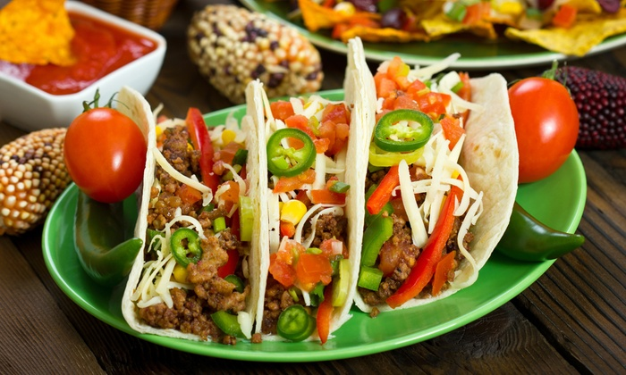 Tacos Uruapan - Industrial Pkwy W & Huntwood Ave: Mexican Cuisine at Tacos Uruapan (Up to 50%). Two Options Available.