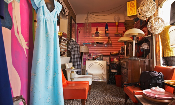 Micanopy Thrift Shop - Micanopy: Thrifty Home Decor, Antiques and Collectibles at Micanopy Thrift Shop (50% Off). Two Options Available.