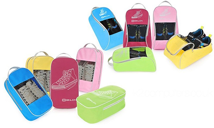 One, Two or Five Binlion Shoe Bags
