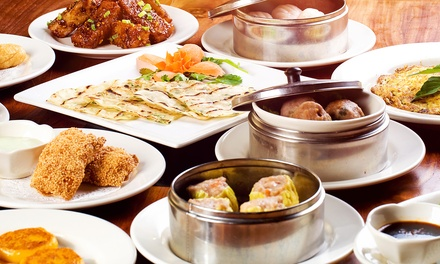 $15 for Buffet Dinner for Two with Drinks at Happy Buffet ($26.48 Value)