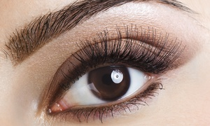 Indulgences: Permanent Eyebrow Makeup, Eyeliner, or Both at Indulgences (Up to 57% Off)