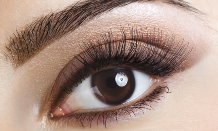 Permanent Eyebrow Makeup, Eyeliner, or Both at Indulgences (Up to 51% Off)