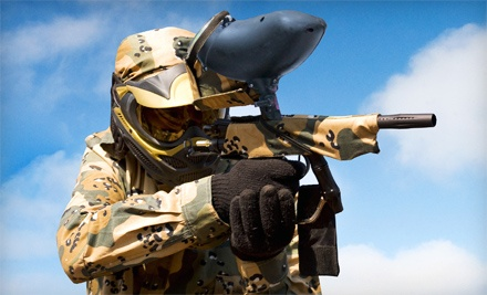 Paintball for 2, 4, or 10 with Gear and 100 Rounds Per Person at Ultimate Paintball Xperience (Up to 63% Off)