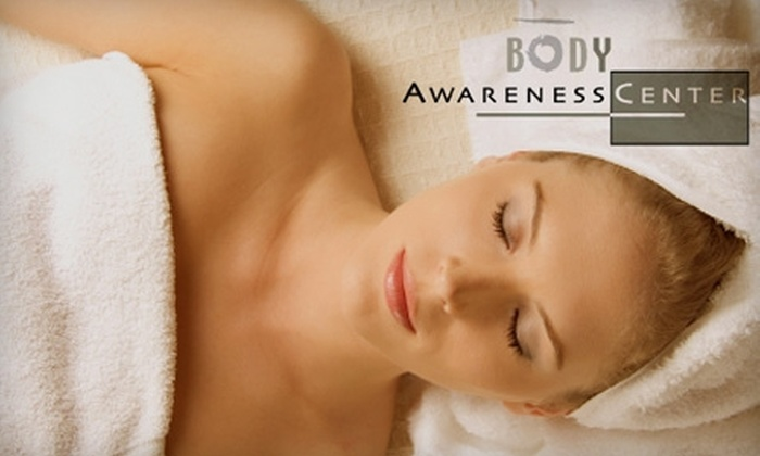 Body Awareness Center - Yankee Hill: $22 for One of Three Detoxification Services at Body Awareness Center