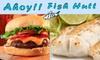 Ahoy! Fish Hutt - Gardiner Lane: $7 for $15 Worth of Seafood and Drinks at Ahoy! Fish Hutt