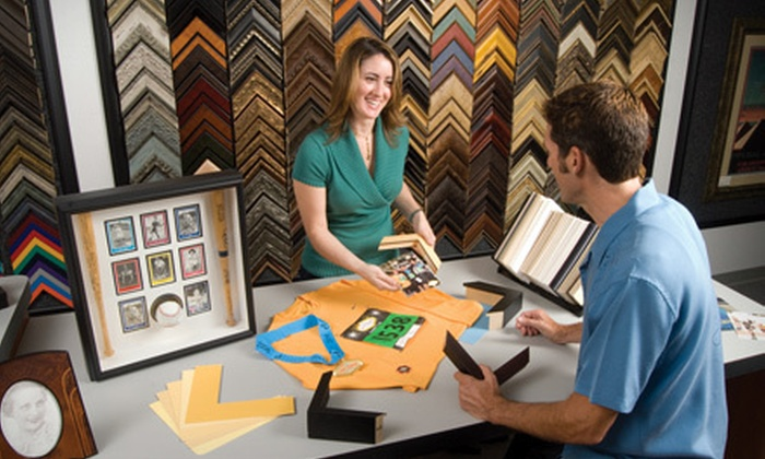 FastFrame - Multiple Locations: $39 for $100 Worth of Custom-Framing Services at FastFrame. Three Locations Available.