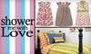 Shower Me With Love - Beverly Woods: $25 for $50 Worth of Boutique Baby Gear, Clothes, and More from Shower Me With Love