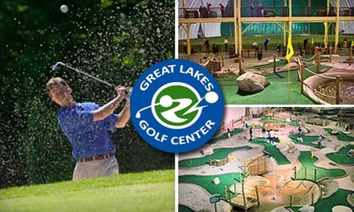 Great Lakes Golf Center - Auburn Hills: Golfing at Great Lakes Golf Center in Auburn Hills. Three Options Available.