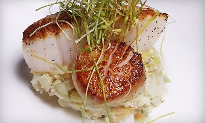 Rowland Fine Dining - Fan Extension,Near West,Willow Oaks: $25 for $50 Worth of Eclectic Cuisine and Drinks at Rowland Fine Dining