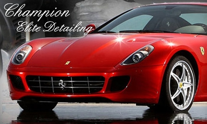 Champion Elite Detailing - West Chester: $119 for a Complete Auto Detail at Champion Elite Detailing in West Chester Township ($255 Value)