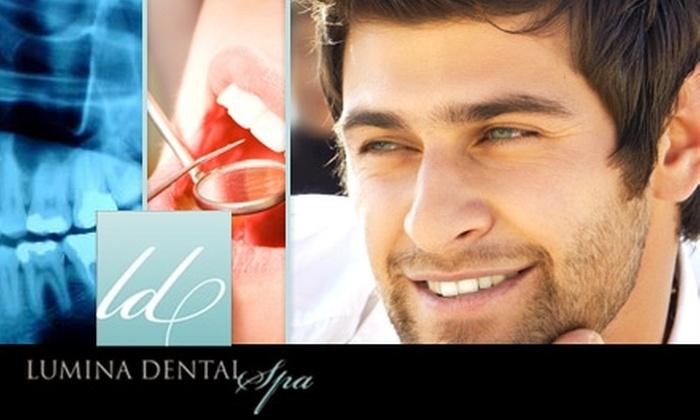 Lumina Dental Spa - Greenway/ Upper Kirby: $49 for a Dental Exam, X-rays, and Teeth Cleaning at Lumina Dental Spa ($245 Value)