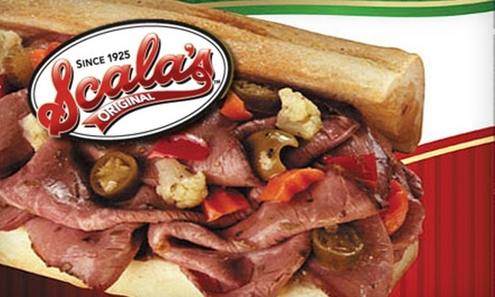 Scala's Original: $29 for $60 Toward Italian Beef, Sausage, and More from Scala's Original