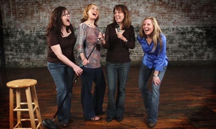 "Four Funny Females - McKinney: One or Two Tickets to ""Four Funny Females"" at McKinney Performing Arts Center (Up to 54% Off). Six Options Available."
