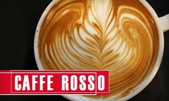 Caffe Rosso - Multiple Locations: $4 for $10 Worth of Fare and Drinks at Caffe Rosso in Ramsay
