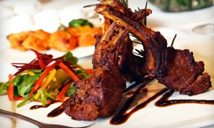 Tanzore - Beverly Hills: $65 for a Ten-Dish Indian Meal for Two with Wine at Tanzore in Beverly Hills ($175 Value)