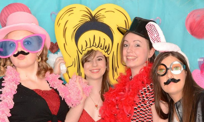 In-a-Flash Photobooths - Las Vegas: Three- or Four-Hour Photo-Booth Rental with Digital Images from In-a-Flash Photobooths (Up to 75% Off)