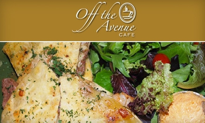 Off the Avenue Cafe - West Lawn: $7 for $15 Worth of Breakfast and Lunch Fare at Off the Avenue Cafe