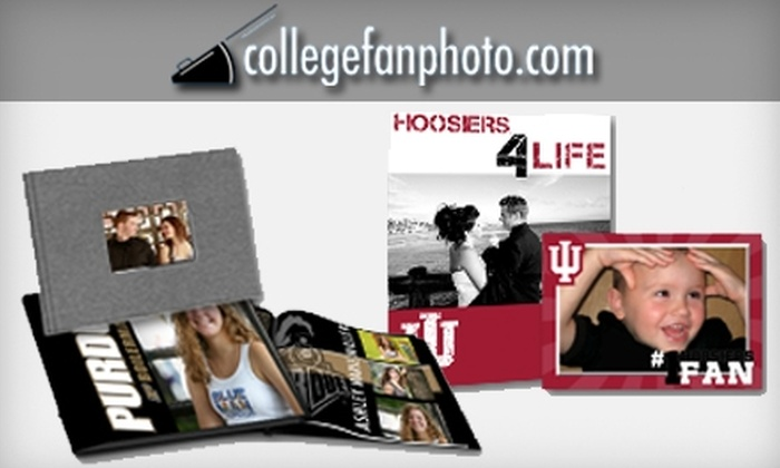 College Fan Photo: $15 for $30 Worth of Boilermakers or Hoosiers Prints, Cards, and More from College Fan Photo