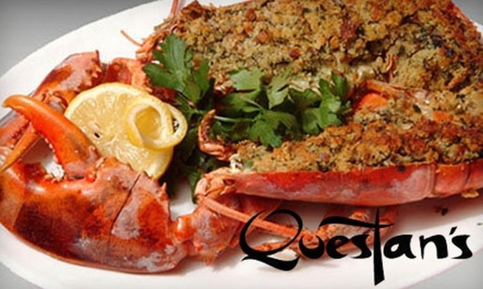 Questan's - Harlem: $20 for $40 Worth of Organic Seafood and Drink at Questan's in Harlem