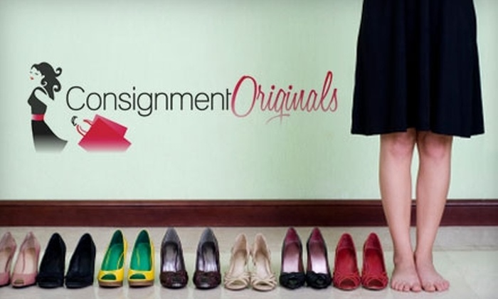 Consignment Originals - Multiple Locations: $10 for $20 Worth of Clothing and Furnishings at Consignment Originals
