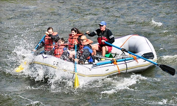 Colorado River Runs - Radium: $20 for a Half Day ($44 Value) or $40 for a Full Day ($80 Value) of Whitewater Rafting from Colorado River Runs in Radium