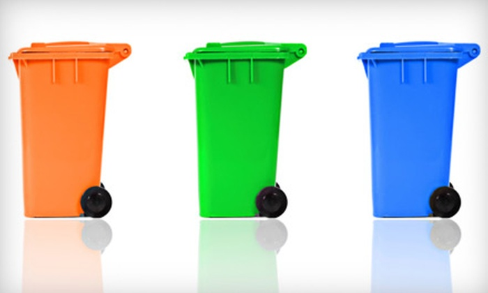 Whole Home Cleaners - Gardner: $15 for a Mobile Trashcan Cleaning from Whole Home Cleaners in Olathe ($35 Value)