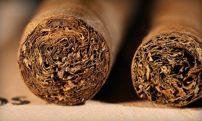 Embassy Cigars - Multiple Locations: $20 for $40 Worth of Cigars at Embassy Cigars. Two Locations Available.