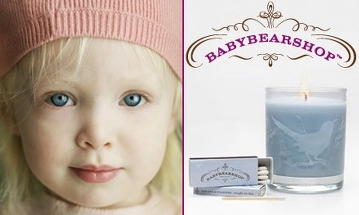 BABYBEARSHOP - Nashville: $15 for $30 Worth of Organic Products from BABYBEARSHOP