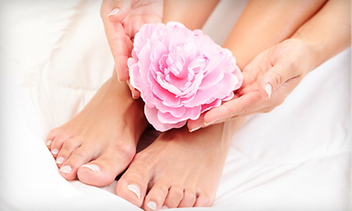 Polished Perfection - Modesto: $35 for a Manicure and Pedicure at Polished Perfection ($70 Value)