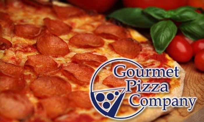 Gourmet Pizza Company - Courier City/Oscawana: $7 for $15 Worth of Game-Changing Pizza Creations and More at Gourmet Pizza Company