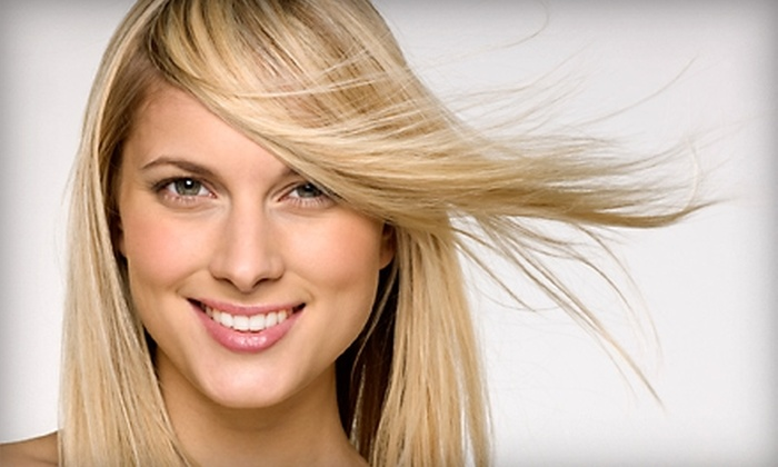 7 Salon - Bayshore: $49 for an Omega-9 Deep-Conditioning Treatment and Blow-Dry at 7 Salon in Miami Beach ($100 Value)