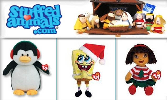 StuffedAnimals.com - Los Angeles: $20 for $40 Worth of Plush Holiday Gifts from StuffedAnimals.com