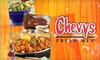$10 for Tex-Mex Fare at Chevys