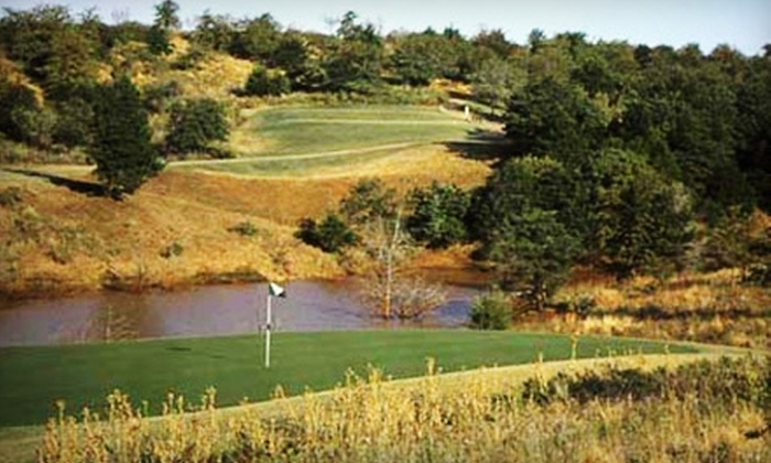 Sugar Creek Canyon Golf Club - Hinton: Golf for Two at Sugar Creek Canyon Golf Club in Hinton. Two Options Available.