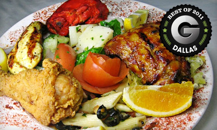 Dimassi's Mediterranean Buffet - Northeast Dallas: $12 for a Mediterranean Buffet Meal for Two at Dimassi's Mediterranean Buffet in Richardson ($24 Value)