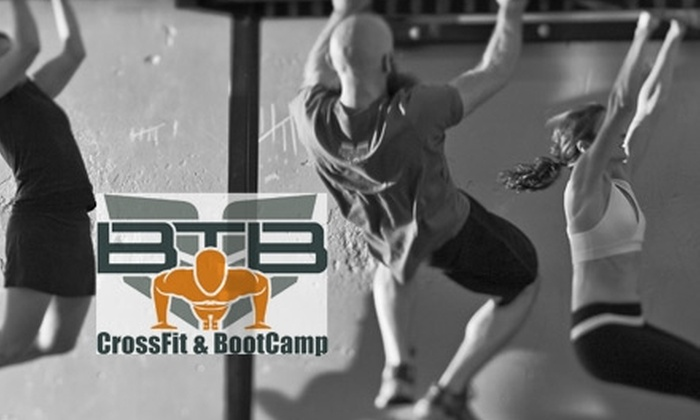 BTB CrossFit & BootCamp - Multiple Locations: $30 for an Eight-Class Dynamics Fitness Course at BTB CrossFit & BootCamp ($150 Value)