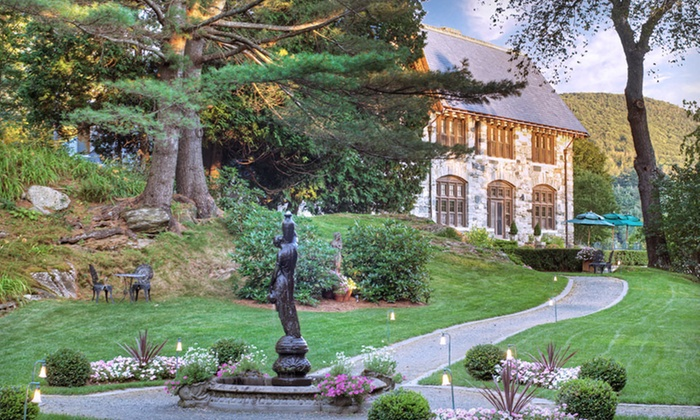Castle Hill Resort and Spa - Proctorsville: One- or Two-Night Stay for Two in a Castle Room or Town-Home Suite at Castle Hill Resort and Spa in Vermont