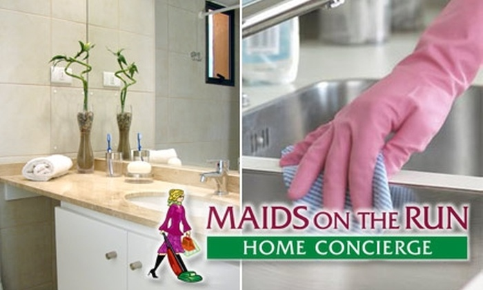 Maids on the Run - Jacksonville: $42 for a Kitchen, Two Bathrooms, and Living Room Cleaning from Maids on the Run  (Up to $96 Value)