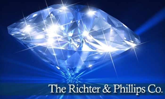 The Richter & Phillips Co. - Cincinnati: $50 for $150 Worth of Fine Jewelry and Watches at The Richter & Phillips Co.