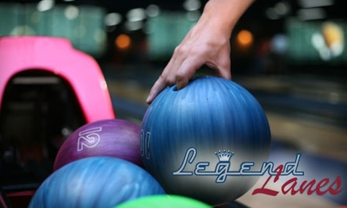 Legend Lanes - Cuyahoga Falls: $6 for Bowling, a Beverage, and Shoe Rental at Legend Lanes